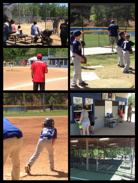 Collage of Youth Baseball Photos