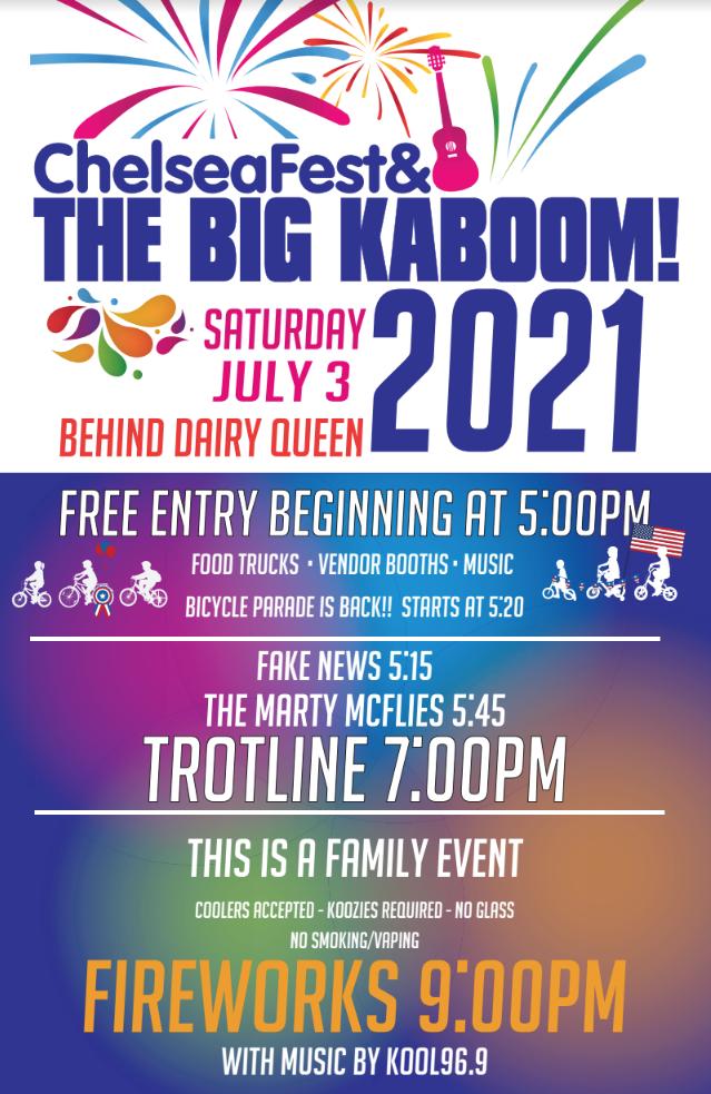 ChelseaFest + the Big KaBoom