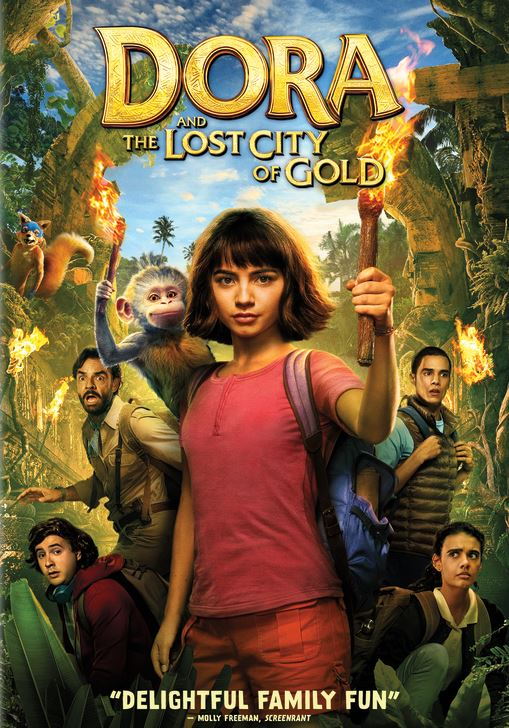 dora lost city of gold poster