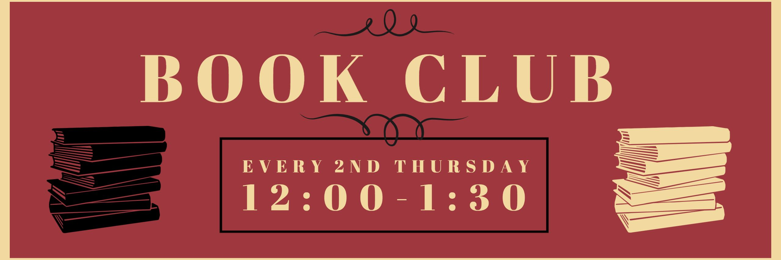 Adult Book Club Banner